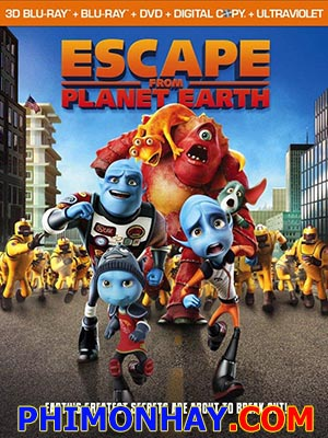 Cuộc Đào Thoát Khỏi Trái Đất Escape From Planet Earth.Diễn Viên: Brendan Fraser As Scorch Supernova,Rob Corddry As Gary Supernova,Ricky Gervais As Mr James