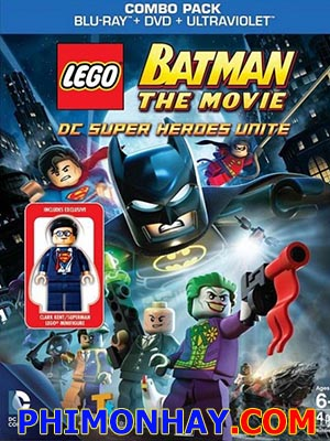 Người Dơi Lego Lego Batman, Dc Superheroes Unite.Diễn Viên: Laura Bailey,Troy Baker,Brian Bloom