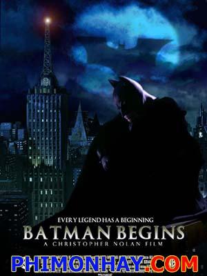 Người Dơi Tái Xuất Batman Begins.Diễn Viên: Christian Bale,Katie Holmes
