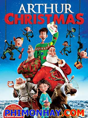 Giáng Sinh Phiêu Lưu Ký Arthur Christmas.Diễn Viên: James Mcavoy,Hugh Laurie,Bill Nighy