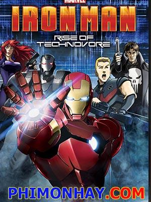 Sự Nổi Giận Của Người Sắt - Iron Man Rise Of Technovore Thuyết Minh (2013)
