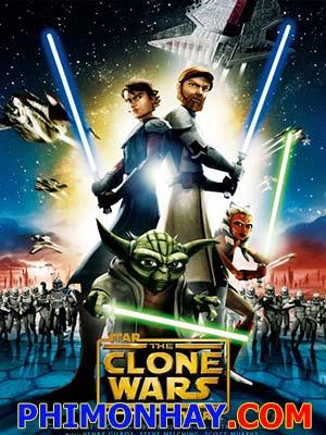 Chiến Tranh Giữa Các Vì Sao Star Wars The Clone Wars.Diễn Viên: Ron Perlman,Rose Mcgowan,Rachel Nichols