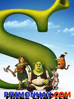 Gã Chằn Tinh Tốt Bụng 4 Shrek Forever After: Cuộc Phiêu Lưu Cuối Cùng.Diễn Viên: Mayumi Tanaka,Kazuya Nakai,Akemi Okamura,Kappei Yamaguchi,Hiroaki Hirata,Ikue Ohtani,Yuriko