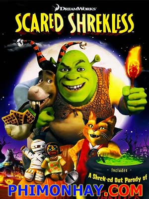 Gã Chằn Tinh Tốt Bụng Mùa Halloween: Scared Shrekless.Diễn Viên: Sean Hayes,Chris Diamantopoulos And Will Sasso