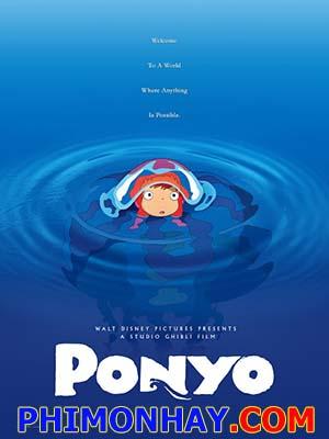 Nàng Tiên Cá Phương Đông Ponyo On The Cliff By The Sea.Diễn Viên: Gake No Ue No Ponyo
