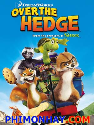 Bộ Tứ Tinh Nghịch - Over The Hedge