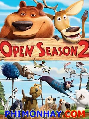 Mùa Săn Bắn 2 Open Season 2.Diễn Viên: Ginnifer Goodwin,Mae Whitman,Rosario Dawson
