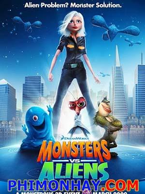 Quái Vật Ác Chiến Hành Tinh Monsters Vs Aliens.Diễn Viên: David A Lockhart,Camille Montgomery,Rick Mora,Robert Amstler,George Anderson