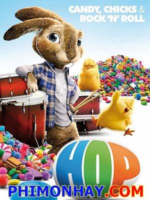 Thỏ Phục Sinh Chạy Trốn Hop