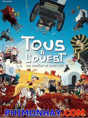 Hành Trình Về Miền Viễn Tây Go West A Lucky Luke Adventure.Diễn Viên: Bill Nighy,Rachel Weisz,Tom Hughes