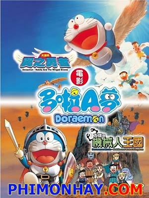 Du Hành Đến Vương Quốc Loài Chim Doraemon: Nobita And The Winged Braves.Diễn Viên: Doraemon,Nobita