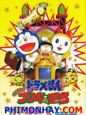 Bí Mật Mê Cung Bliki Doraemon: Nobita And The Tin Labyrinth