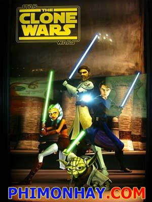 Chiến Tranh Giữa Các Vì Sao Star Wars: The Clone Wars.Diễn Viên: Matt Lanter,Nika Futterman,Tom Kane