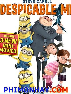 Kẻ Cắp Mặt Trăng Despicable Me.Diễn Viên: Steve Carell,Jason Segel,Russell Brand,Julie Andrews,Will Arnett