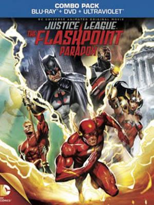 Justice League The Flashpoint Paradox - Liên Minh Công Lý: Nghịch Lý Tia Chớp