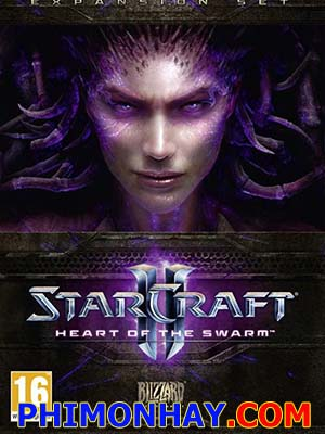 Trái Tim Của Swarm Starcraft 2: Heart Of The Swarm.Diễn Viên: Brian Bloom,Steve Blum,Thomas Bromhead,Robert Clotworthy