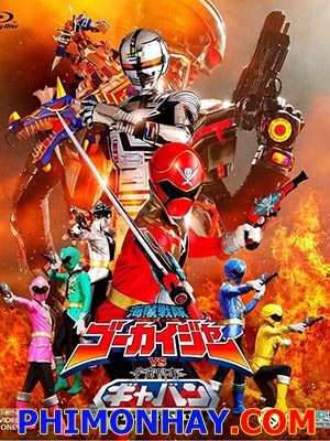 Kaizoku Sentai Gokaiger Vs Uchuu Keiji Gavan - Gokai And Gavan The Movie: Space Sheriff Gavan Việt Sub (2012)
