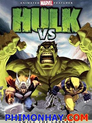 Đối Đầu Giữa Hulk Và Thor Hulk Vs Thor.Diễn Viên: Mark Acheson,Michael Adamthwaite And Steve Blum