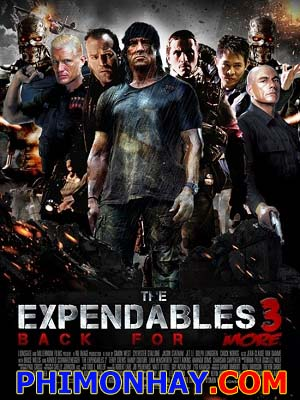 Biệt Đội Đánh Thuê 3 The Expendables 3.Diễn Viên: Sylvester Stallone,Jason Statham,Jet Li