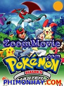 Bảo Bối Thần Kì 5 Pokemon 5.Diễn Viên: Unshô Ishizuka,Rica Matsumoto,Ikue Ootani