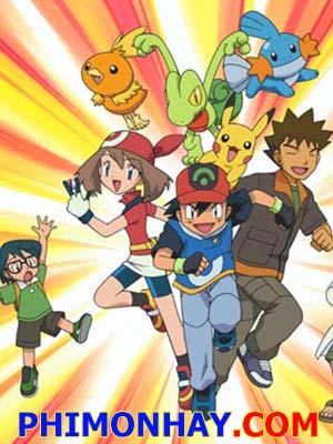 Bảo Bối Thần Kì 6 Pokemon 6.Diễn Viên: Unshô Ishizuka,Rica Matsumoto,Ikue Ootani