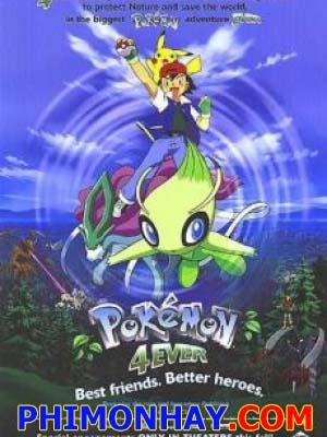 Celebi Và Cuộc Gặp Gỡ Vượt Thời Gian Pokemon Movie 4.Diễn Viên: Liev Schreiber,Emma Stone,Richard Gere