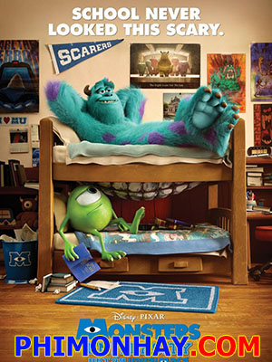 Lò Đào Tạo Quái Vật Monster Inc 2: Monsters University.Diễn Viên: Steve Buscemi,John Goodman,Helen Mirren,Billy Crystal,Charlie Day,Alfred Molina,Sean P Hayes,Frank