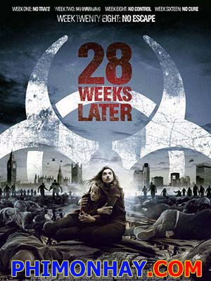 28 Tuần Sau 28 Weeks Later.Diễn Viên: Jeremy Renner,Rose Byrne,Robert Carlyle