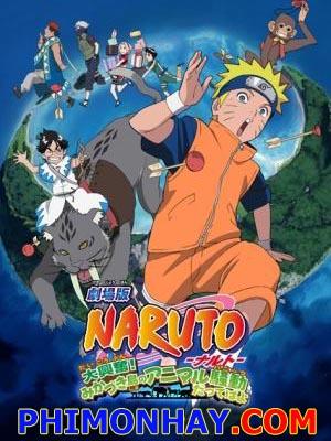 Những Lính Gác Của Nguyệt Quốc - Naruto Movie 3: Guardians Of The Crescent Moon Kingdom