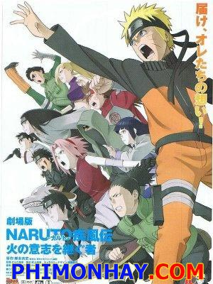 Người Kế Thừa Ngọn Lửa Của Ý Chí Naruto Shippuuden Movie 3: Inheritors Of The Will Of Fire.Diễn Viên: Laura Bailey,Troy Baker,Brian Bloom
