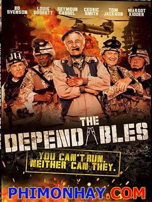 Đội Quân Cảm Tử The Dependables.Diễn Viên: Bo Svenson,Margot Kidder,Louis Gossett Jr