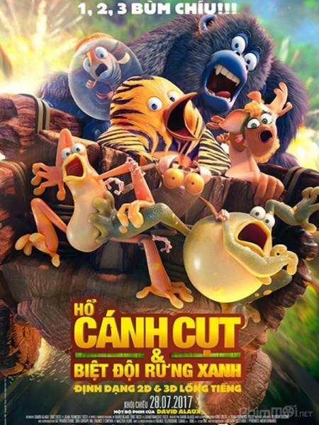Hổ Cánh Cụt & Biệt Đội Rừng Xanh The Jungle Bunch.Diễn Viên: Sylvester Stallone,Jason Statham,Jet Li