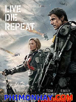 Cuộc Chiến Luân Hồi Edge Of Tomorrow.Diễn Viên: Tom Cruise,Emily Blunt,Bill Paxton