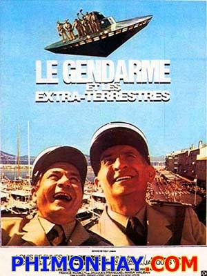 Cảnh Sát Và Người Ngoài Hành Tinh The Troops & Aliens: Le Gendarme Et Les Extra-Terrestres.Diễn Viên: Louis De Funès,Michel Galabru,Maurice Risch
