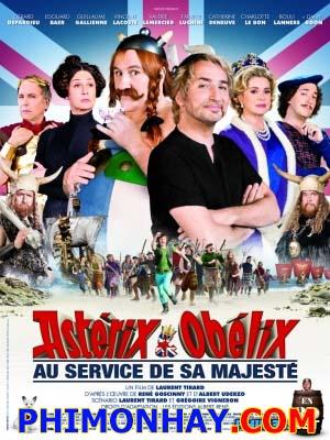 Chúa Cứu Nước Anh Asterix And Obelix God Save Britannia.Diễn Viên: Gérard Depardieu,Dany Boon,Edouard Baer