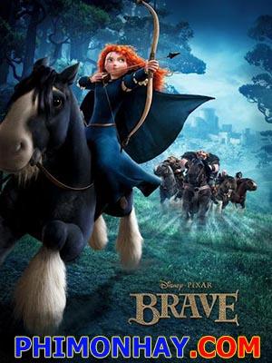 Công Chúa Tóc Xù - Brave