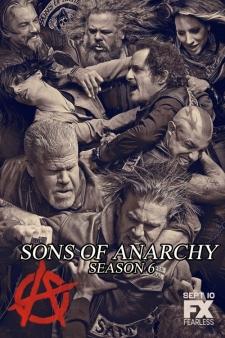 Giang Hồ Đẫm Máu Phần 6 Sons Of Anarchy Season 6.Diễn Viên: Charlie Hunnam,Kim Coates,Katey Sagal,Mark Boone Junior,Dayton Callie