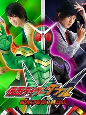 Kamen Rider Double Kamen Rider W.Diễn Viên: Shotaro Hidari,Akiko Narumi,Mikio Jinno