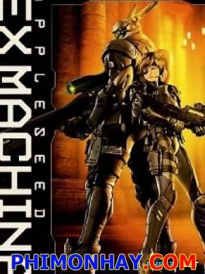 Cuộc Chiến Tương Lai Appleseed Ex Machina.Diễn Viên: Ai Kobayashi,Kôichi Yamadera,Yûji Kishi