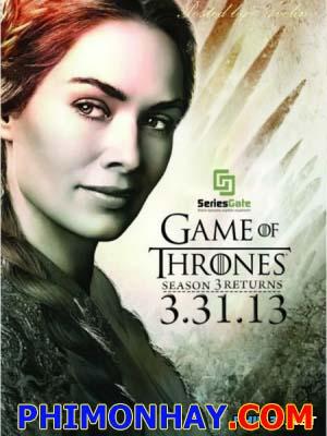 Cuộc Chiến Ngai Vàng Phần 3 Game Of Thrones Season 3.Diễn Viên: Peter Dinklage,Lena Headey,Nikolaj Coster Waldau