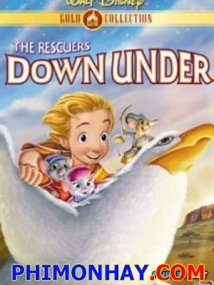 Nhân Viên Cứu Hộ The Rescuers Down Under.Diễn Viên: Bob Newhart,Eva Gabor,John Candy