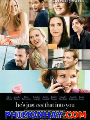 Chờ Yêu He Is Just Not That Into You.Diễn Viên: Jennifer Aniston,Jennifer Connelly,Morgan Lily