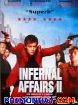 Vô Gian Đạo 2 Infernal Affairs 2.Diễn Viên: Edison Chen,Shawn Yue,Anthony Wong Chau Sang