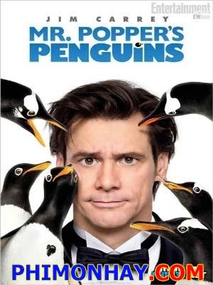 Bầy Cánh Cụt Nhà Popper Mr. Poppers Penguins.Diễn Viên: Jim Carrey,Carla Gugino,Angela Lansbury,Ophelia Lovibond