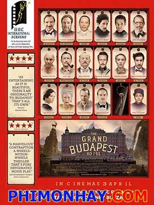 Khách Sạn Đế Vương The Grand Budapest Hotel.Diễn Viên: Ralph Fiennes,F Murray Abraham,Mathieu Amalric