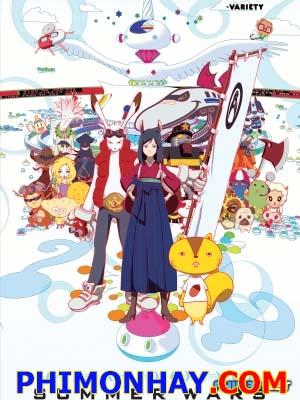 Cuộc Chiến Mùa Hè Summer Wars.Diễn Viên: Ryûnosuke Kamiki,Nanami Sakuraba,Mitsuki Tanimura