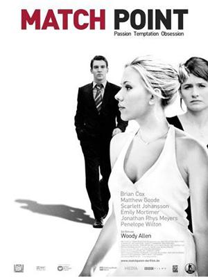 Điểm Quyết Định Match Point.Diễn Viên: Scarlett Johansson,Jonathan Rhys Meyers,Emily Mortimer
