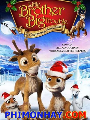 Hai Chú Hươu Con: Niko 2 - Little Brother, Big Trouble: A Christmas Adventure Thuyết Minh (2012)