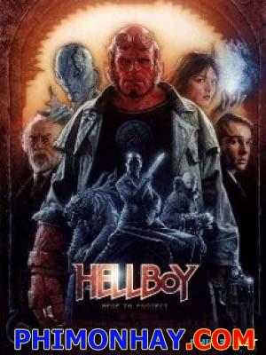 Quỷ Đỏ 1 Hellboy 1.Diễn Viên: Ron Perlman,John Hurt,Selma Blair