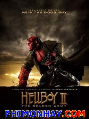 Quỷ Đỏ 2: Binh Đòan Địa Ngục Hellboy 2: The Golden Army.Diễn Viên: Ron Perlman,Selma Blair,Doug Jones